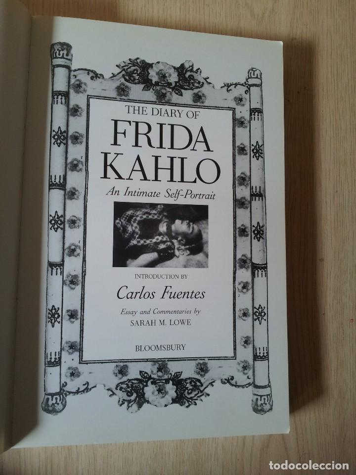 Libros de segunda mano: THE DIARY OF FRIDA KAHLO - AN INTIMATE SELF PORTRAIT - BLOOMSBURY 2001 - IDIOMA INGLES - Foto 3 - 119681047