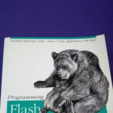 Libros de segunda mano: FLASH COMMUNICATION SERVER / ORELLY 2005. Lote 120935860