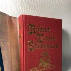 Libros de segunda mano: R.L. STEVENSON ·· TREASURE ISLAND ·· KIDNAPPED ·· THE BLACK ARROW ·· LIBRO EN INGLÉS. Lote 121060835