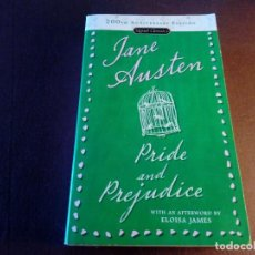 Libros de segunda mano: PRIDE AND PREJUDICE JANE AUSTEN INGLÉS ENGLISH. Lote 121062143