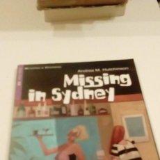 Libros de segunda mano: 95G24 LIBRO MISSING IN SYDNEY ANDREA M HUTCHINSON. Lote 175545384