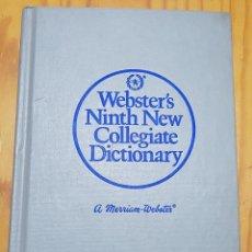 Libros de segunda mano: == AR08 - WEBSTER´S NINTH NEW COLLEGIATE DICTIONARY. Lote 122732483