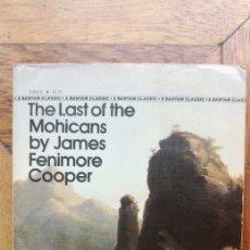 Libros de segunda mano: THE LAST OF THE MOHICANS JAMES FENIMORE COOPER. Lote 123330044