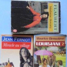Libros de segunda mano: LOTE DE 3 LIBROS EN FRANCES Nº 31. Lote 123547223