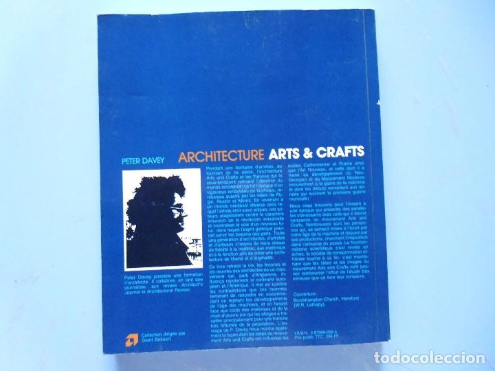 Libros de segunda mano: LIBRO EN FRANCES: ARCHITECTURE ARTS & GRAFFTS PETER DAVEY Nº39 - Foto 2 - 124282159