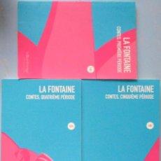 Libros de segunda mano: LIBRO EN FRANCES: LOTE DE TRES LIBROS DE LA FONTAINE - CONTES,1ª; 4ª Y 5ª PÉRIODE Nº 66. Lote 125034647
