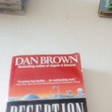 Libros de segunda mano: C-15OG18 LIBRO EN INGLES DAN BROWN DECEPTION POINT . Lote 125155787