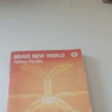 Libros de segunda mano: C-15OG18 LIBRO EN INGLES BRAVE NEW WORLD ALDOUS HUXLEY . Lote 125155947