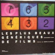 Libros de segunda mano: LIBRO EN FRANCES: LES PLUS BEA GÉNÉRIQUES DE FILMS Nº 83. Lote 125168827