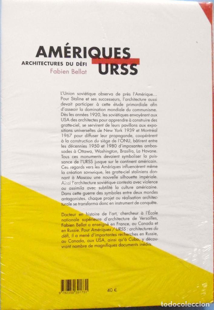 Libros de segunda mano: LIBRO EN FRANCES: AMÉRIQUES ARCHITECTURES DU DÉFI URSS FABIEN BELLAT Nº69 - Foto 2 - 125241871