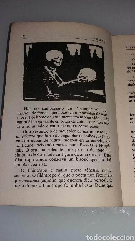 Libros de segunda mano: Narracións e outras prosas. Alfonso Castelao. 1982 - Foto 2 - 126308652