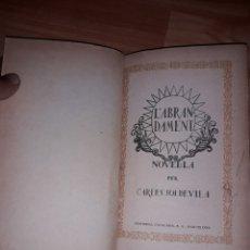 Libros de segunda mano: L'ABRANDAMENT - CARLES SOLDEVILA. Lote 126690763