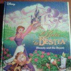 Libros de segunda mano: THE WALT DISNEY COMPANY - LA BELLA I LA BÈSTIA - BEAUTY AND THE BEAST- CATALÀ ANGLÈS. Lote 127990679