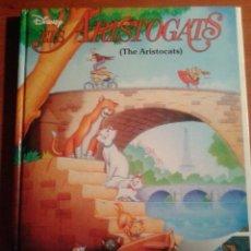 Libros de segunda mano: THE WALT DISNEY COMPANY - ELS ARISTOGATS - THE ARISTOCATS - CATALÀ ANGLÈS. Lote 127990715