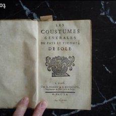 Libros de segunda mano: NACIONALISMO. ZUBEROA. FUEROS Y COSTUMBRES. TEXTO EN GASCÓN.. Lote 128156219