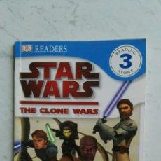 Libros de segunda mano: STAR WARS THE CLONE WARS JEDI HEROES READERS. Lote 128796486