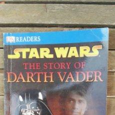 Libros de segunda mano: STAR WARS THE STORY OF DARTH VADER READERS. Lote 128814672