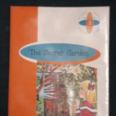 Libros de segunda mano: THE SECRET GARDEN BY FRANCES HODGSON 2º ESO - BURLINGTON BOOKS 9789963471225. Lote 128836199