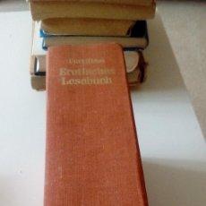 Libros de segunda mano: G-CAR69C LIBRO EN ALEMAN CURT RIESS EROTISCHES LESEBUCH. Lote 129315079