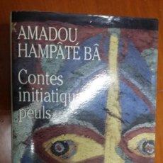 Libros de segunda mano: AMADOU HAMPATE BA, CONTES INITIATIQUES PEULS. Lote 130086851