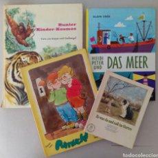 Libros de segunda mano: LOTE DE 4 CUENTOS EN ALEMAN.. Lote 130119011
