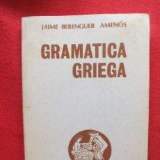 Libros de segunda mano - Libro Griego Gramática Griega J Berenguer Amenós (Bosch Casa Editorial, Barcelona) - 130120983