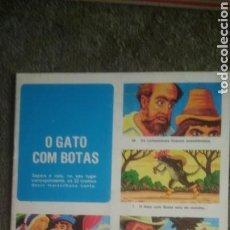 Libros de segunda mano: EL GATO CON BOTAS. EN.LENGUA PORTUGUESA. MUY NUEVO.. Lote 130121662