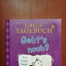 Libros de segunda mano: GREGS TAGEBUCH 5. GEHT'S NOCH? - EIN COMIC-ROMAN. Lote 130493926
