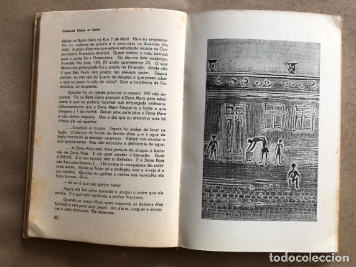 Libros de segunda mano: QUARTO DE ESPEJO (DIÁRIO DE UMA FAVELADA). CAROLINA MARÍA DE JESÚS. 1960. - Foto 6 - 132360598