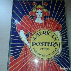 Libros de segunda mano: AMERICAN POSTERS, 1975. Lote 132448598