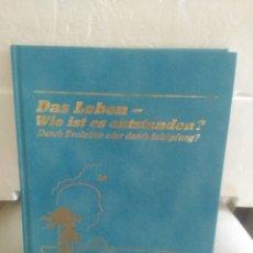 Libros de segunda mano: DAS LEBEN-WIE IST ES ENTSTANDEN?. Lote 132590035