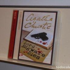 Livros em segunda mão: AUDIOBOOK AGATHA CHRISTIE POIROT LORD EDGWARE DIES 5 CDS UNABRIDGED READ BY HUGH FRASER. Lote 133162494