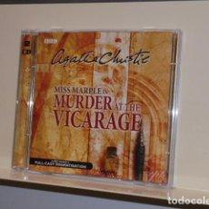 Livros em segunda mão: AUDIOBOOK AGATHA CHRISTIE MISS MARPLE IN MURDER AT THE VICARAGE A BBC RADIO DRAMATISATION 2 CDS. Lote 133238042