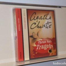 Livros em segunda mão: AUDIOBOOK AGATHA CHRISTIE POIROT THREE ACT TRAGEDY READ BY HUGH FRASER 5CDS UNABRIDGED- HARPER. Lote 133239138