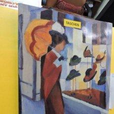 Libros de segunda mano: AUGUST MACKE. MESEURE, ANNA. ED. TASCHEN. COLOGNE 1993. EN INGLÉS. Lote 133374642