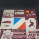 Libros de segunda mano: LE FRANCAIS VIVANT - CURSO FRANCES VINILOS - CA112. Lote 134713233