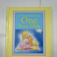Libros de segunda mano: A TREASURY FOR ONE YEAR OLDS. A COLLECTION OF NURSERY RHIMES AND LULLABIES. EN INGLES. TDK299. Lote 135360266