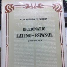 Libros de segunda mano: DICCIONARIO LATINO-ESPAÑOL (SALAMANCA)1492. Lote 135659469