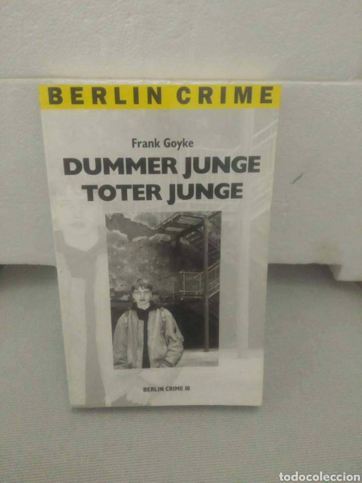 DUMMER JUNGE TOTER JUNGE. FRANK GOYKE (Libros de Segunda Mano - Otros Idiomas)