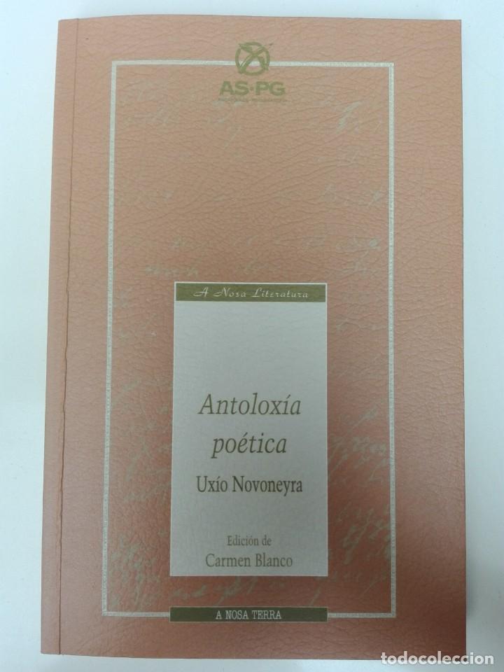 UXÍO NOVONEYRA - ANTOLOXÍA POÉTICA EDICIÓN DE CARMEN BLANCO A NOSA TERRA POESÍA (Libros de Segunda Mano - Otros Idiomas)