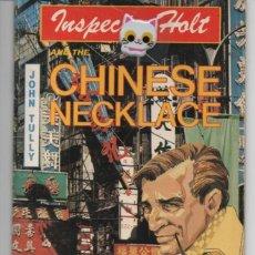 Libros de segunda mano: THE INSPECTOR HOLT AND THE CHINESE NECKLACE BY JOHN TULLY PRIMERA EDICIÓN GRAN BRETAÑA 1984. Lote 136112258