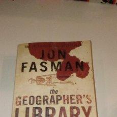 Libros de segunda mano: G-PC13CP LIBRO EN INGLES JON FASMAN THE GEOGRAPHHER`S LIBRARY . Lote 137277466