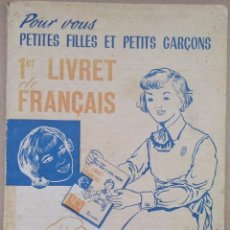 Libros de segunda mano: LIBRO PARA ENSEÑAR FRANCÉS DESDE NIÑOS DE 1963 MIRA LAS FOTOS. Lote 137753098