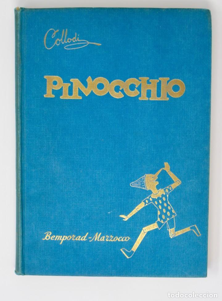 LE AVVENTURE DI PINOCCHIO-ILUSTRAZIONI DI PIERO BERNARDINI- BEMPORAD MARZOCCO-1960 FIRENZE (Libros de Segunda Mano - Otros Idiomas)