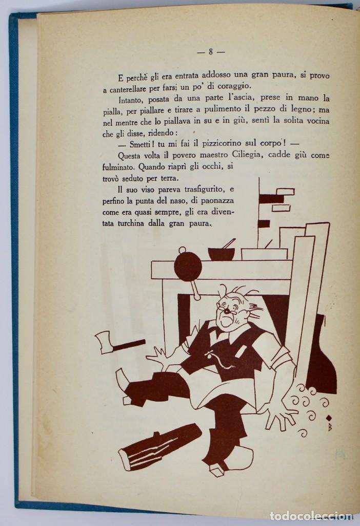 Libros de segunda mano: LE AVVENTURE DI PINOCCHIO-ILUSTRAZIONI DI PIERO BERNARDINI- BEMPORAD MARZOCCO-1960 FIRENZE - Foto 5 - 138108790