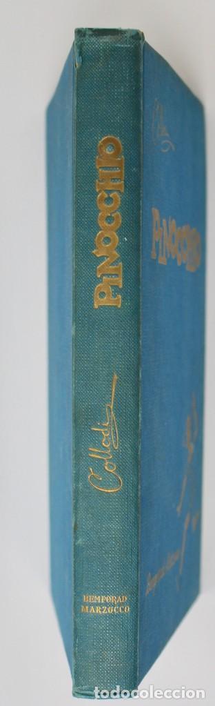 Libros de segunda mano: LE AVVENTURE DI PINOCCHIO-ILUSTRAZIONI DI PIERO BERNARDINI- BEMPORAD MARZOCCO-1960 FIRENZE - Foto 7 - 138108790