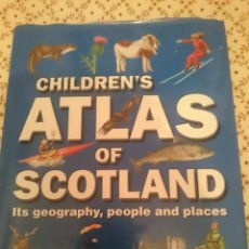 Libros de segunda mano: CHILDREN´S ATLAS OF SCOTLAND -IT´S GEOGRAPHY PEOPLE AND PLACES --REFM3E3. Lote 138948618