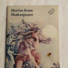 Libros de segunda mano: STORIES FROM SHAKESPEARE SIMPLIFICADO POR BRIAN HEATON AND MICHAEL WEST. Lote 139200022