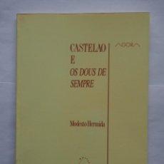 Libros de segunda mano: CASTELAO E OS DOUS DE SEMPRE. MODESTO HERMIDA. GALAXIA.. Lote 139501694