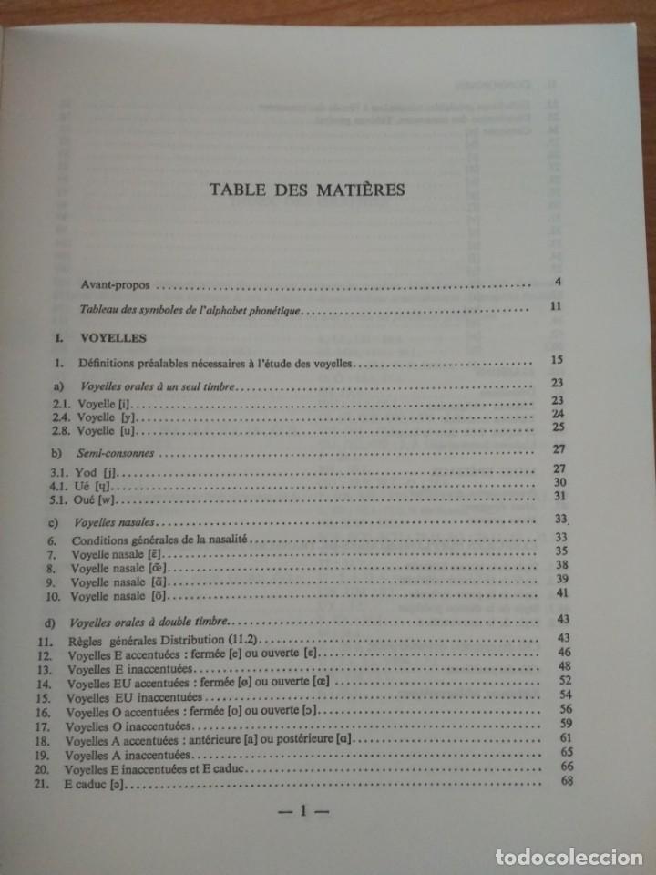 Libros de segunda mano: PRONONCIATION DU FRANÇAIS STANDARD. PIERRE R. LÉON. DIDIER - Foto 2 - 139944686